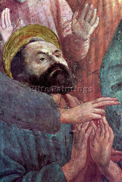 MASACCIO BRANCACCI CHAPEL AWAKENING THEOPHILUS SON ARTIST PAINTING REPRODUCTION