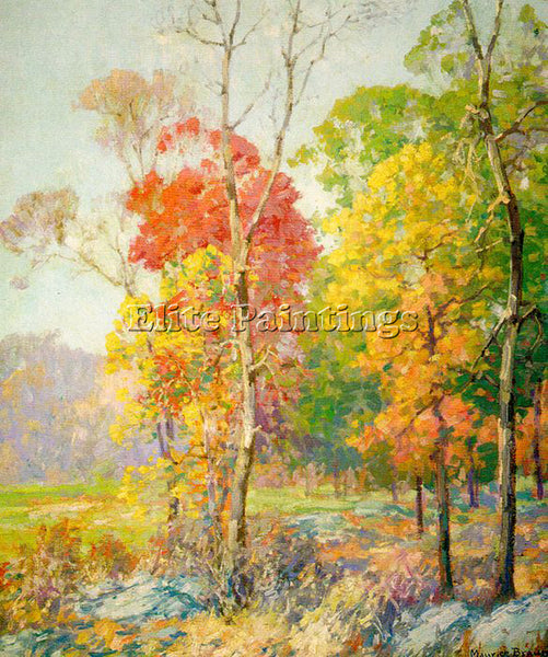 AMERICAN BRAUN MAURICE AMERICAN 1877 1941 ARTIST PAINTING REPRODUCTION HANDMADE - Oil Paintings Gallery Repro