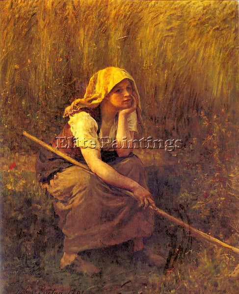 JULES BRETON SUMMER ARTIST PAINTING REPRODUCTION HANDMADE CANVAS REPRO WALL DECO