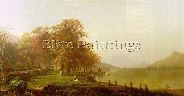 AMERICAN BRICHER ALFRED THOMPSON AMERICAN 1837 1908 ARTIST PAINTING REPRODUCTION