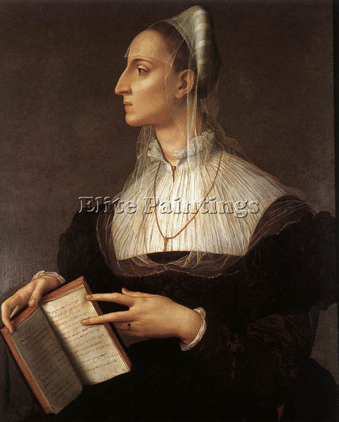AGNOLO BRONZINO LAURA BATTIFERRI ARTIST PAINTING REPRODUCTION HANDMADE OIL REPRO
