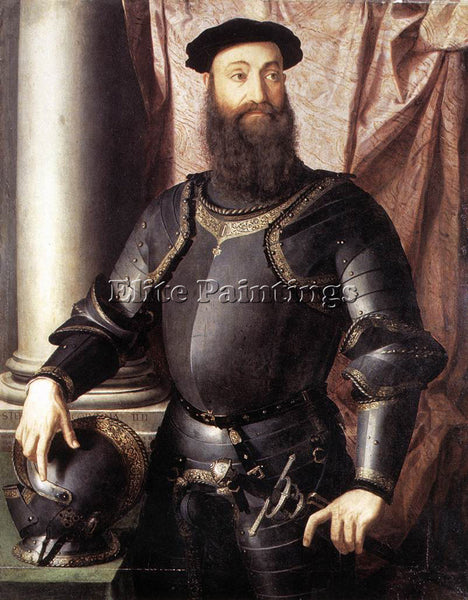 AGNOLO BRONZINO PORTRAIT OF STEFANO IV COLONNA ARTIST PAINTING REPRODUCTION OIL