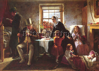 BROOKS THOMAS BRITISH 1818 TO 1891 RELENTING SND 1855 86 4 BY 116 8CM ARTIST OIL