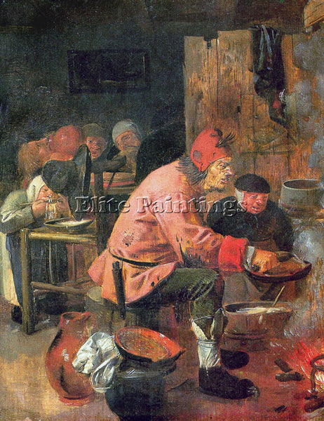 ADRIAEN BROUWER 25PANCAKE ARTIST PAINTING REPRODUCTION HANDMADE OIL CANVAS REPRO