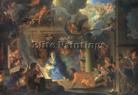 FRENCH BRUN CHARLES LE FRENCH 1619 1690 3 ARTIST PAINTING REPRODUCTION HANDMADE