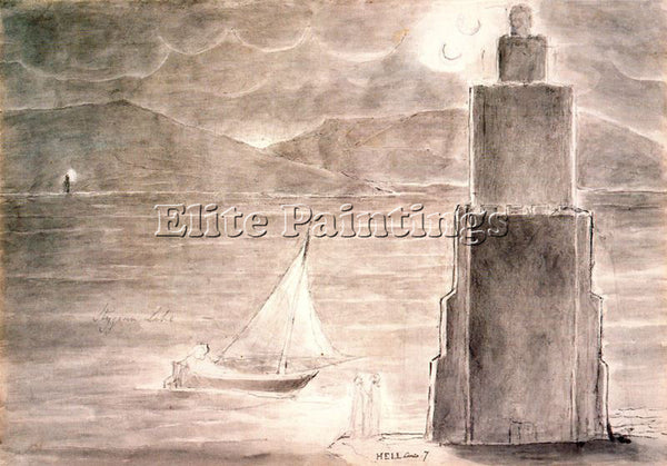 WILLIAM BLAKE BLAK23 ARTIST PAINTING REPRODUCTION HANDMADE OIL CANVAS REPRO WALL