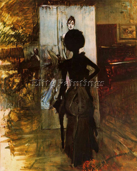 GIOVANNI BOLDINI BOLD15 ARTIST PAINTING REPRODUCTION HANDMADE CANVAS REPRO WALL