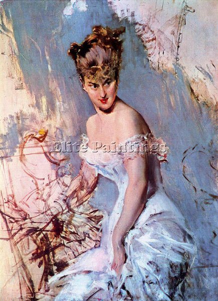GIOVANNI BOLDINI BOLD17 ARTIST PAINTING REPRODUCTION HANDMADE CANVAS REPRO WALL