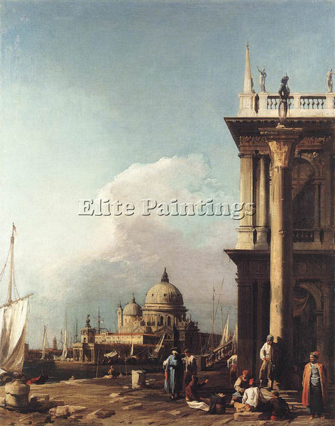 CANALETTO  VENICE 1 ARTIST PAINTING REPRODUCTION HANDMADE CANVAS REPRO WALL DECO