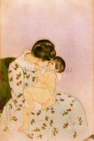 MARY CASSATT CASS31 ARTIST PAINTING REPRODUCTION HANDMADE CANVAS REPRO WALL DECO