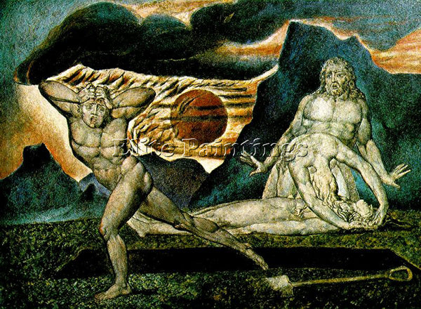 WILLIAM BLAKE BLAK48 ARTIST PAINTING REPRODUCTION HANDMADE OIL CANVAS REPRO WALL