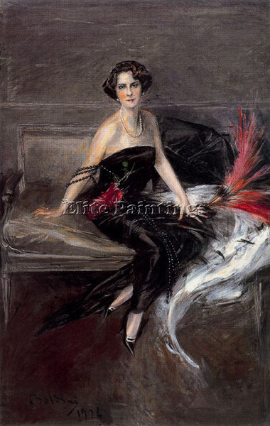 GIOVANNI BOLDINI BOLD28 ARTIST PAINTING REPRODUCTION HANDMADE CANVAS REPRO WALL