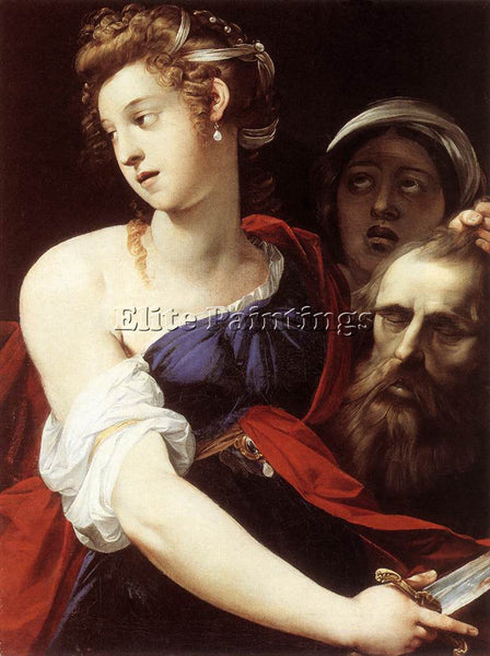 GIUSEPPE CESARI JUDITH WITH THE HEAD OF HOLOFERNES ARTIST PAINTING REPRODUCTION