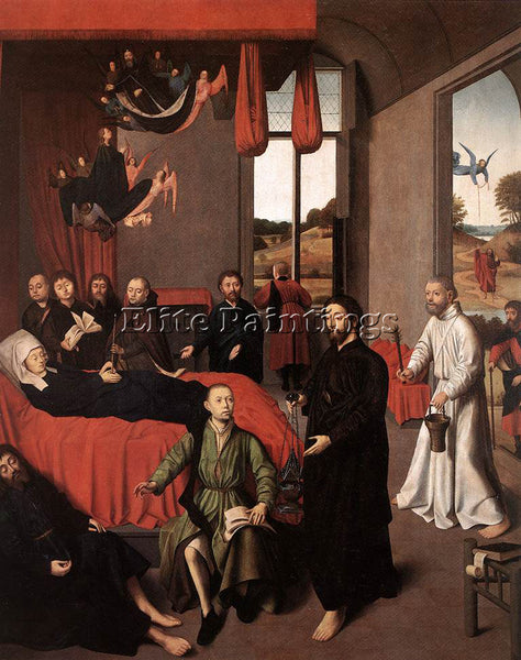 PETRUS CHRISTUS DEATH OF THE VIRGIN ARTIST PAINTING REPRODUCTION HANDMADE OIL