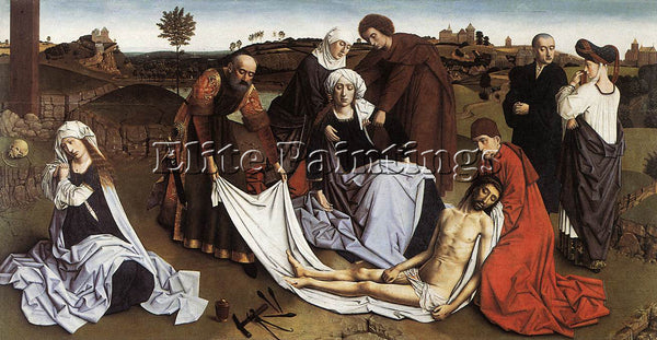 PETRUS CHRISTUS THE LAMENTATION PIC1 ARTIST PAINTING REPRODUCTION HANDMADE OIL
