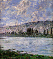 CLAUDE MONET THE SEINE AT VETHEUIL 5 ARTIST PAINTING REPRODUCTION HANDMADE OIL