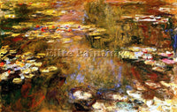 CLAUDE MONET THE WATER LILY POND 11 ARTIST PAINTING REPRODUCTION HANDMADE OIL