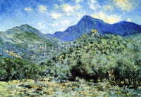 CLAUDE MONET VALLE NEAR BORDIGHERA ARTIST PAINTING REPRODUCTION HANDMADE OIL ART