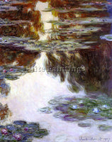 CLAUDE MONET WATER LILIES 10 ARTIST PAINTING REPRODUCTION HANDMADE CANVAS REPRO