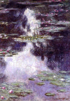 CLAUDE MONET WATER LILIES 13 ARTIST PAINTING REPRODUCTION HANDMADE CANVAS REPRO