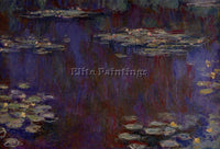 CLAUDE MONET WATER LILIES 27 ARTIST PAINTING REPRODUCTION HANDMADE CANVAS REPRO