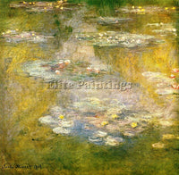 CLAUDE MONET WATER LILIES 32 ARTIST PAINTING REPRODUCTION HANDMADE CANVAS REPRO