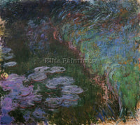 CLAUDE MONET WATER LILIES 35 ARTIST PAINTING REPRODUCTION HANDMADE CANVAS REPRO