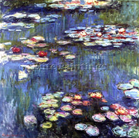 CLAUDE MONET WATER LILIES 45 ARTIST PAINTING REPRODUCTION HANDMADE CANVAS REPRO