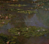 CLAUDE MONET WATER LILIES 5 ARTIST PAINTING REPRODUCTION HANDMADE OIL CANVAS ART
