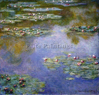 CLAUDE MONET WATER LILIES 7 ARTIST PAINTING REPRODUCTION HANDMADE OIL CANVAS ART
