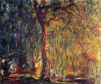 CLAUDE MONET WEEPING WILLOW 2 ARTIST PAINTING REPRODUCTION HANDMADE CANVAS REPRO