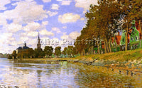 CLAUDE MONET ZAANDAM 1 ARTIST PAINTING REPRODUCTION HANDMADE CANVAS REPRO WALL