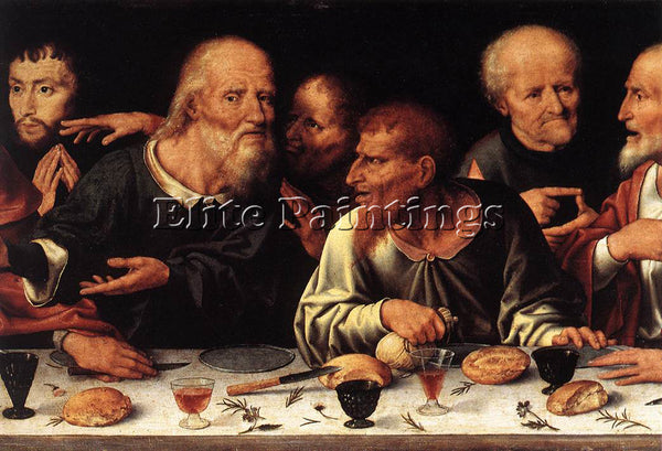 JOOS-VAN CLEVE ALTARPIECE OF THE LAMENTATION DETAIL 2 ARTIST PAINTING HANDMADE