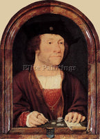 JOOS-VAN CLEVE PORTRAIT OF ANTHONIS VAN HILTEN ARTIST PAINTING REPRODUCTION OIL