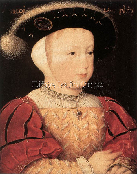 FRENCH CLOUET JEAN THE DAUPHIN FRANCOIS SON OF FRANCOIS I ARTIST PAINTING CANVAS