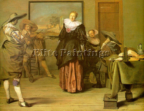 PIETER CODDE CODAZZI VIVIANO THE MEAGRE COMPANY ARTIST PAINTING REPRODUCTION OIL