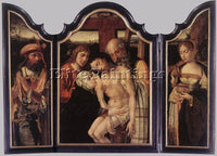 BELGIAN COECKE VAN AELST PIETER DESCENT FROM THE CROSS ARTIST PAINTING HANDMADE
