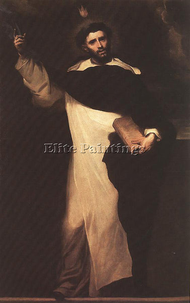 CLAUDIO COELLO ST DOMINIC ARTIST PAINTING REPRODUCTION HANDMADE OIL CANVAS REPRO