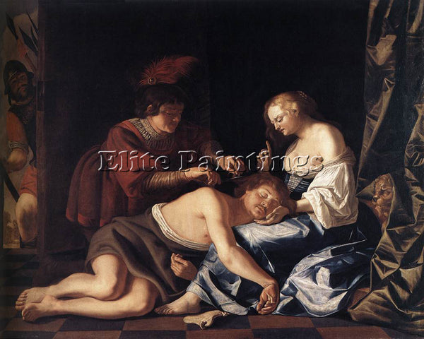 DENMARK COUWENBERGH CHRISTIAEN VAN THE CAPTURE OF SAMSON ARTIST PAINTING CANVAS