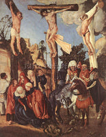 LUCAS CRANACH THE ELDER THE CRUCIFIXION ARTIST PAINTING REPRODUCTION HANDMADE