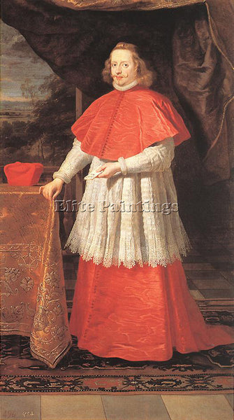 GASPARD DE CRAYER  THE CARDINAL INFANTE ARTIST PAINTING REPRODUCTION HANDMADE