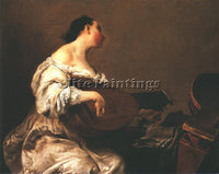 GIUSEPPE MARIA CRESPI  THE SCULLERY MAID ARTIST PAINTING REPRODUCTION HANDMADE