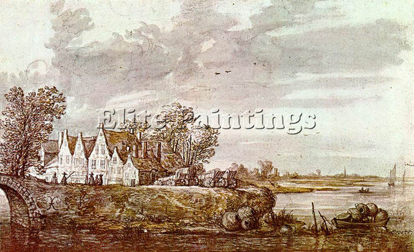 AELBERT CUYP LANDSCAPE 1640 ARTIST PAINTING REPRODUCTION HANDMADE OIL CANVAS ART