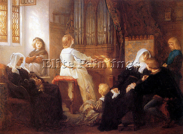 ALEXANDRE CABANEL  HARMONY ARTIST PAINTING REPRODUCTION HANDMADE OIL CANVAS DECO