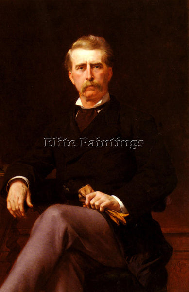 ALEXANDRE CABANEL  PORTRAIT DE JOHN WILLIAM MACKAY ARTIST PAINTING REPRODUCTION