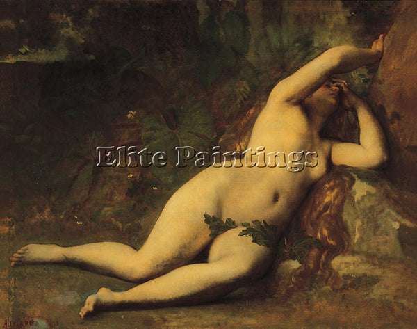ALEXANDRE CABANEL EVE AFTER THE FALL ARTIST PAINTING REPRODUCTION HANDMADE OIL