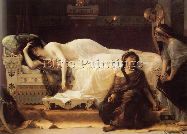 ALEXANDRE CABANEL PHEDRE ARTIST PAINTING REPRODUCTION HANDMADE CANVAS REPRO WALL