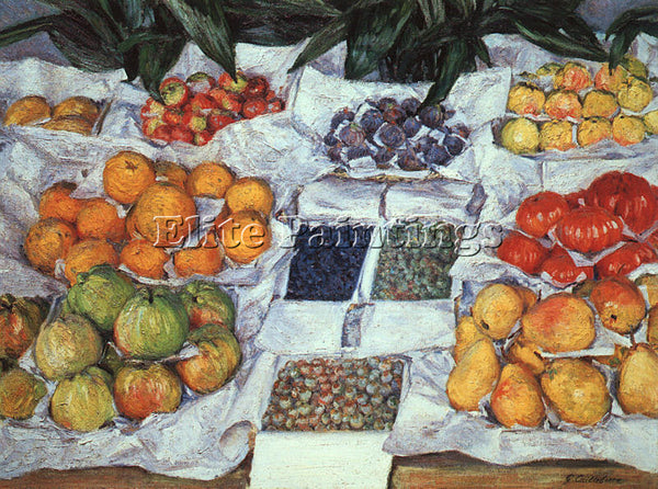 FRENCH CAILLEBOTTE GUSTAVE FRENCH 1848 1894 2 ARTIST PAINTING REPRODUCTION OIL