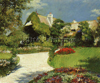FRENCH CAILLEBOTTE GUSTAVE FRENCH 1848 1894 3 ARTIST PAINTING REPRODUCTION OIL