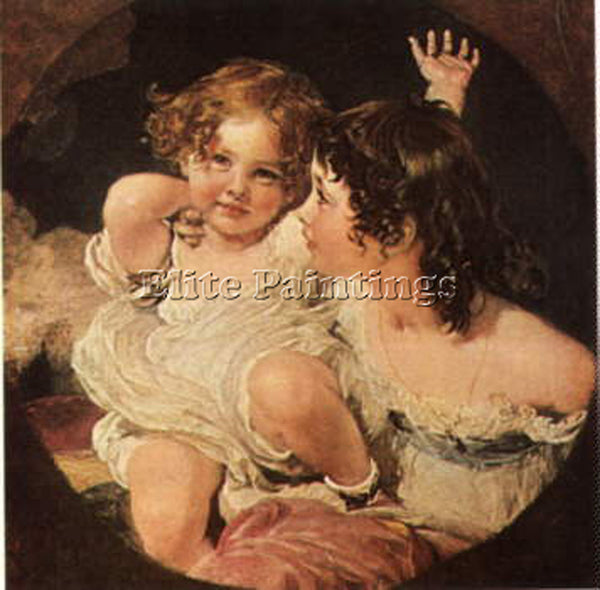 SIR THOMAS LAWRENCE CALMADY CHILDREN BGG ARTIST PAINTING REPRODUCTION HANDMADE